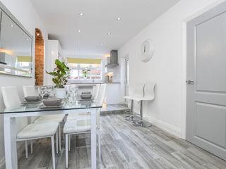 5 Bedroom Victorian House - South East London Millennium Interior Designers Кухня Керамічні Білий