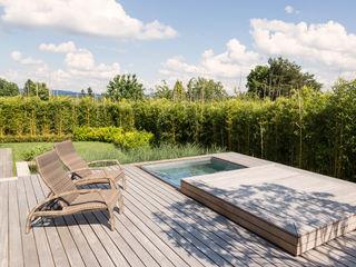 meier architekten zürich Modern style balcony, porch & terrace Wood