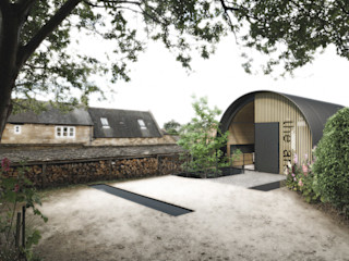 The Ark, Studio design storey Modern Evler