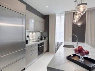 Joe Ginsberg Design Modern kitchen White