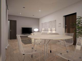 BILOCALE SANTO STEFANO LAB16 architettura&design Soggiorno minimalista
