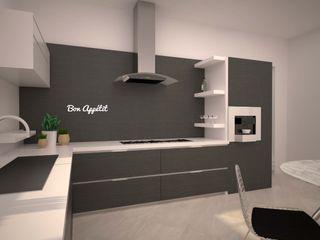 LAB16 architettura&design Minimalist kitchen