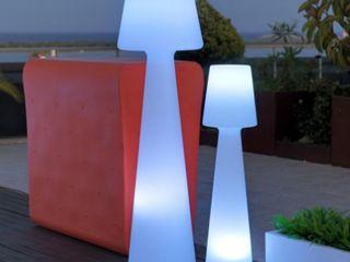 DATALIGHT AG Balconies, verandas & terraces Accessories & decoration Plastic White