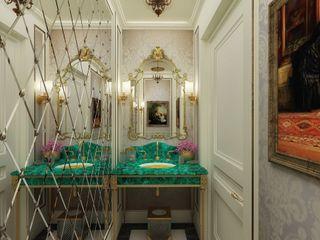 M.P. Residence Kerim Çarmıklı İç Mimarlık Klasik Banyo