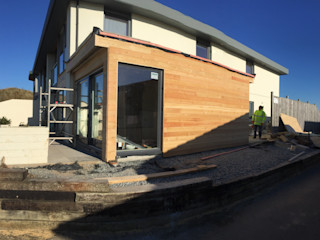 Perranporth, Contemporary Extension - Stunning Views Building With Frames Modern Houses Wood