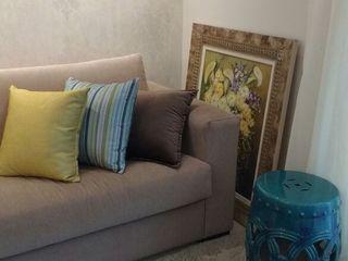 Samira Prado Moda Casa ВітальняАксесуари та прикраси Папір Бежевий