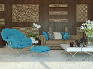 m.frahat Salones de estilo minimalista