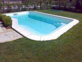 piscina interrata prima e dopo Aquazzura Piscine