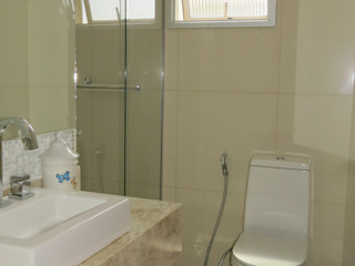Concept Engenharia + Design Baños modernos Azulejos Beige