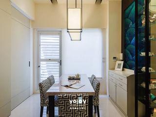 潺禪。垂影 - 現代隱禪 有容藝室內裝修設計有限公司 餐廳