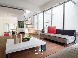 自然。隱逸 - 北歐風格 有容藝室內裝修設計有限公司 客廳
