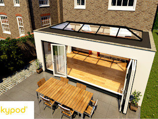 Skypod Skylights Premier Roof Systems Modern conservatory