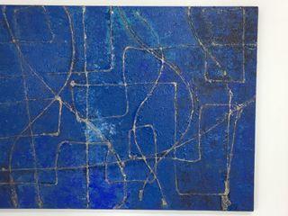 Karla Abrão SztukaWyroby artystyczne Niebieski
