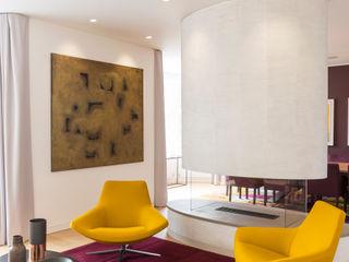 Family Home in Hampstead Studio Mark Ruthven Modern living room