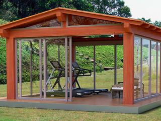 Verdebano ASC F.lli Saramin & Co. s.n.c. Jardin asiatique Bois d'ingénierie Effet bois