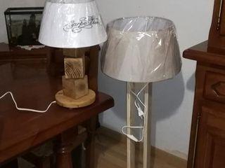 Palcreassion BedroomLighting Wood Wood effect