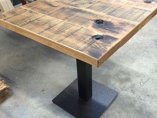 WE-Maatdesign Ruang Makan Gaya Industrial Kayu Wood effect