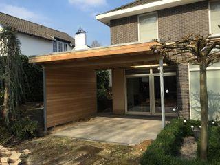 WE-Maatdesign Rumah Modern Kayu Wood effect