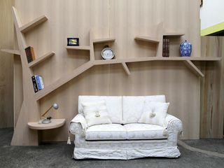 Gli Artigiani dei f.lli M.& S. Cordi snc Living roomTV stands & cabinets Wood