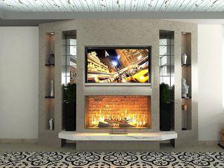 Murat Aksel Architecture Modern Conservatory Concrete Beige