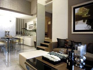 直譯空間設計有限公司 Classic style living room Multicolored
