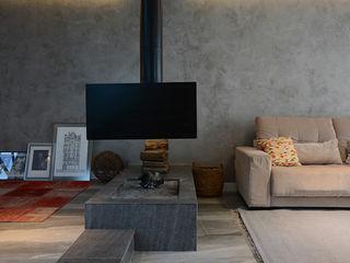 Bloco Z Arquitetura Minimalist media room
