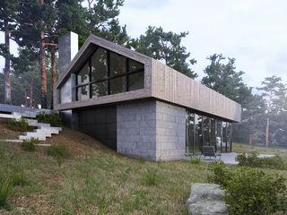 Espace Team Minimalist houses