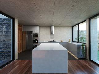 Studio de Arquitectura y Ciudad Modern kitchen Multicolored