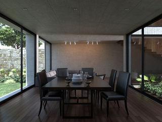 Studio de Arquitectura y Ciudad Modern dining room Wood