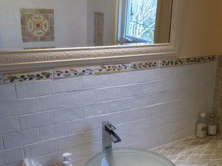 Bagno La Fleche Design Bagno in stile classico Ceramica Bianco