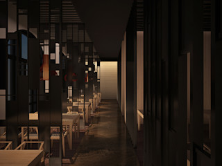直譯空間設計有限公司 Classic offices & stores Wood effect