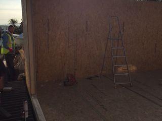 Refurbishment Project - Retallack Building With Frames Modern Gym Wood
