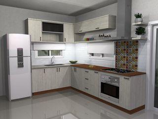 Muebles del angel Modern kitchen