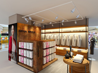 直譯空間設計有限公司 Office spaces & stores Wood effect