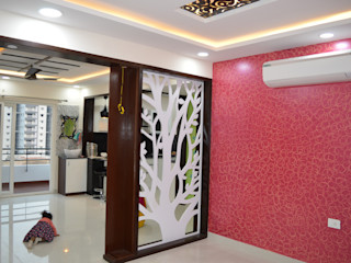 Heavenly Decor Modern Living Room MDF White
