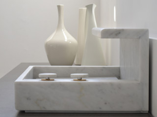 MG12 BathroomSinks Marble Grey