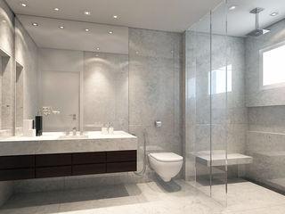 STUDIO GUTO MARTINS Eclectic style bathroom