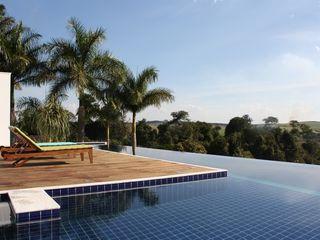 acr arquitetura Pool Wood White