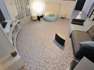 ELEMENTO 3 DISEÑO SA DE CV Corridor, hallway & stairs Accessories & decoration Beige