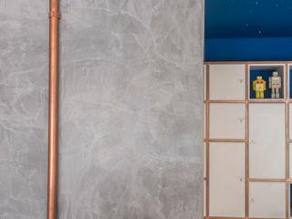 POCHE ARQUITETURA Espaces commerciaux originaux Béton Bleu