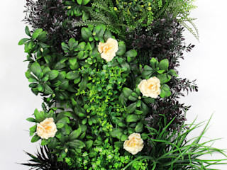 Artificial Greenery Wall For Indoor & Outdoor Landscape Sunwing Industries Ltd Garden Fencing & walls Plastic Green
