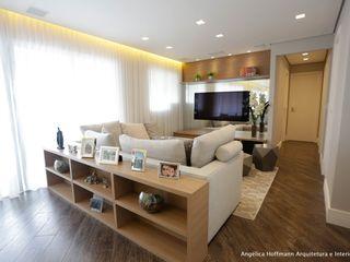 Angelica Hoffmann Arquitetura e Interiores Moderne woonkamers