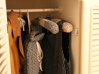 Wieszaki trzy manufaktury GarderobaAkcesoria i dekoracje