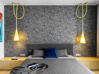 Anna Maria Sokołowska Architektura Wnętrz Minimalist bedroom