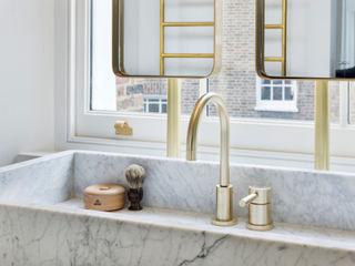 Islington House Gundry & Ducker Architecture Baños de estilo ecléctico