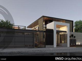 Enso Arquitectos Rumah Modern Beton White