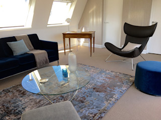 Catherine Plumet Interiors Modern living room