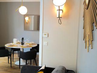 Catherine Plumet Interiors Eclectic style living room
