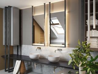 Villa auf der Unrugstraße MIKOLAJSKAstudio Moderne Badezimmer