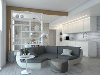 Silvana Barbato Livings modernos: Ideas, imágenes y decoración